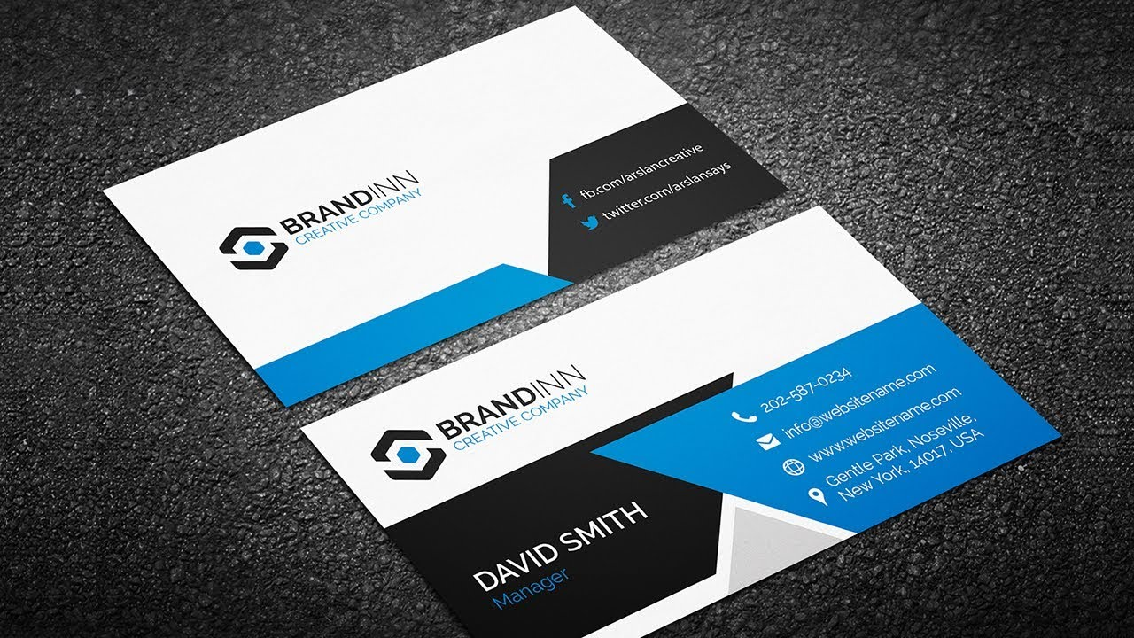 Creating a Professional Business Card without any hassle ...