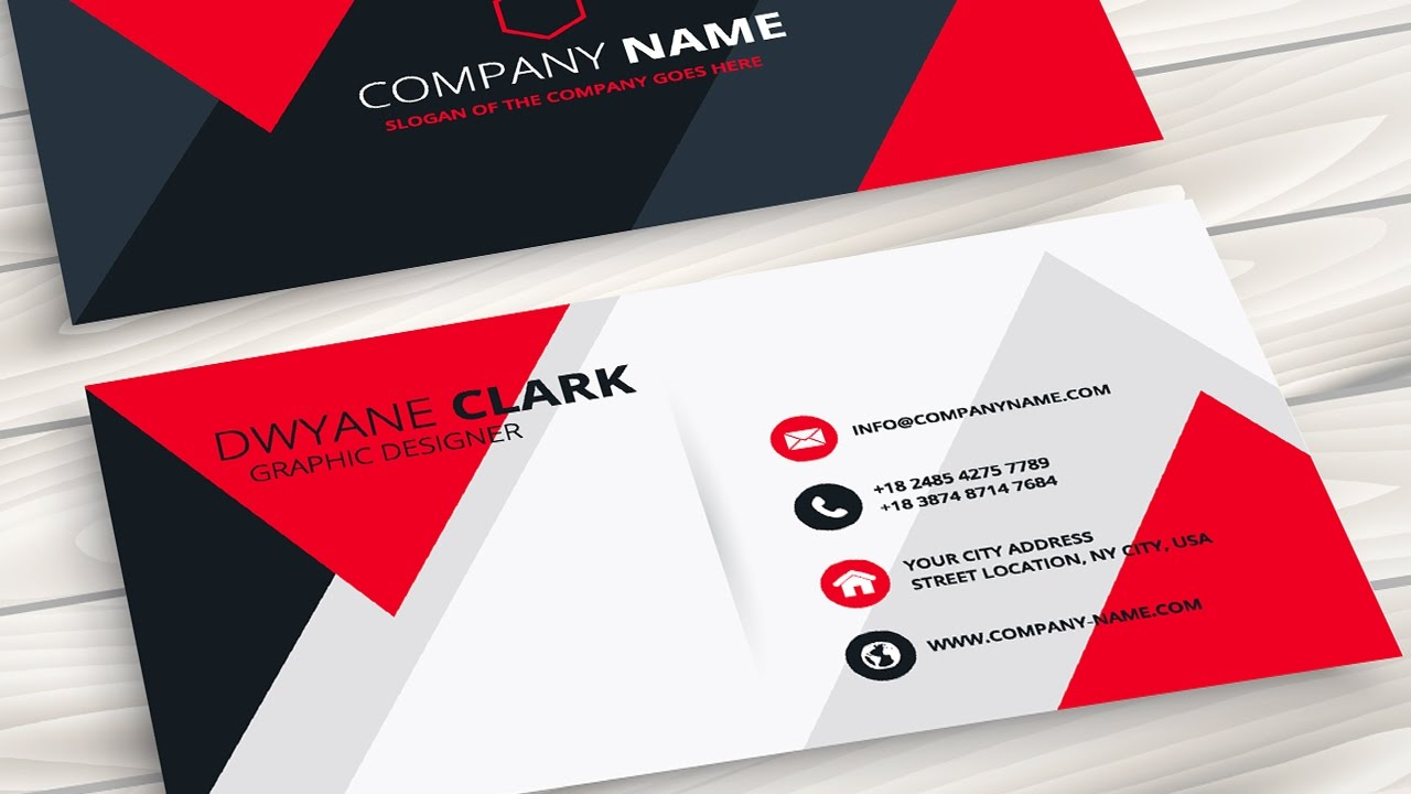 Visiting Card Design In Coreldraw Youtube - Somurich com